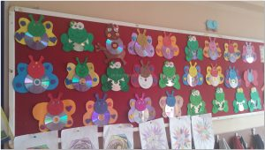 cd crafts bulletin board ideas