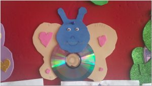 cd crafts for kindergarten