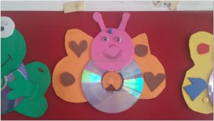 cd crafts ideas animals