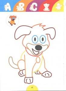 dog-tale heroes coloring pages for kids