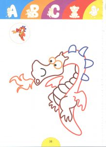 dragon -tale heroes coloring pages for kids