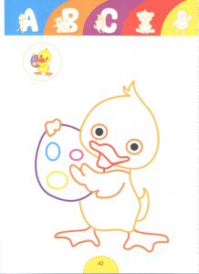 duck tale heroes coloring pages for kids
