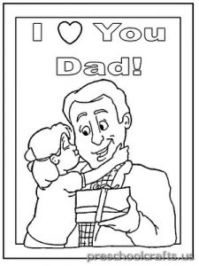 free printable world father's day for child