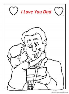 free printable world father's day for kid