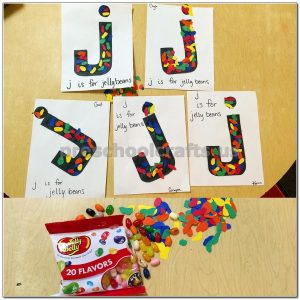 letter j crafts preschool