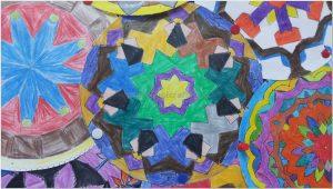 mandala bulletin board art activities for kids