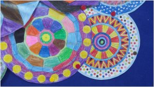 mandala bulletin board art activities for primary school
