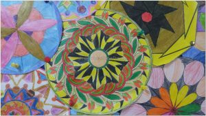 mandala bulletin board art activities for primaryschool