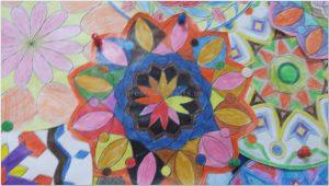 mandala bulletin board art activity