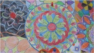 mandala bulletin board ideas2
