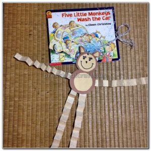monkey crafts for kindergarten