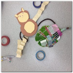 monkey crafts for preschool