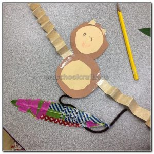 monkey crafts ideas for kids