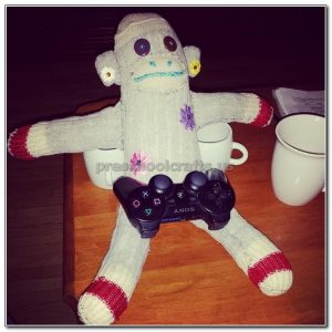 monkey crafts ideas for kindergarten