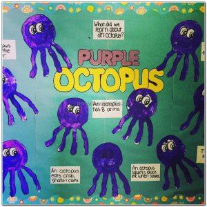 octopus crafts for kindergarten