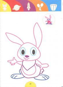 rabbit-tale heroes coloring pages for kids