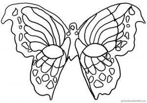Free–printable-animals-butterfly-coloring-pages-for-first grade