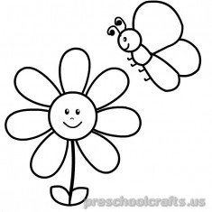 Free–printable-animals-butterfly coloring-pages-for-kids