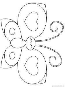 Free–printable-animals-butterfly-coloring-pages-for-kids-toddler-kindergarten-firstgrade