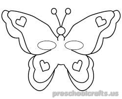 Free–printable-animals-butterfly-coloring-pages-for-kids-toddler