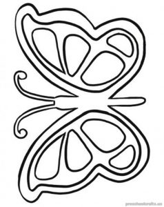 Free–printable-animals-butterfly-coloring-pages-for-kindergarten