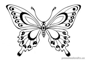 butterfly coloring-pages-for-kids