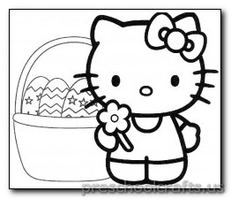 cat coloring-pages for preschooler