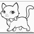 kitten coloring-pages for kids