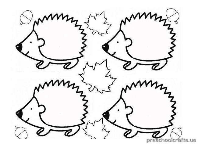 hedgehog coloring pages  kidsuki