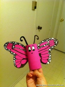 butterly-craft-idea-with-toilet-roll