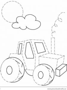 car-is-for-trace-line-worksheets