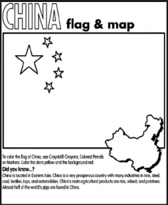 china-flag-and-map-chinese-days