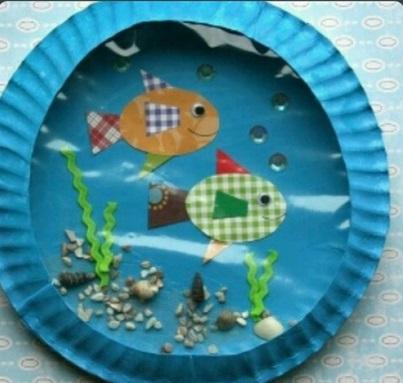 fish akvarium craft for kids