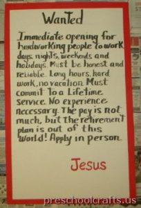 labor day bulletin board idea for kindergarten