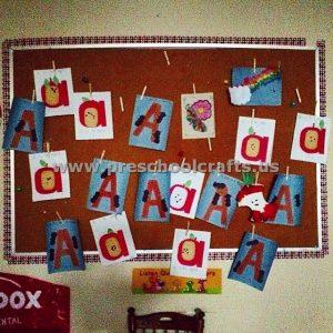 letter-a-bulletin-board-ideas