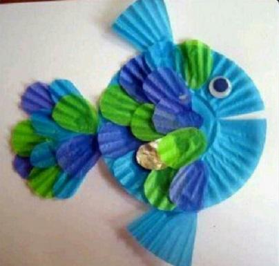 preschool fish crafts - Preschool Crafts