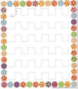 preschool-trace-line-worksheet
