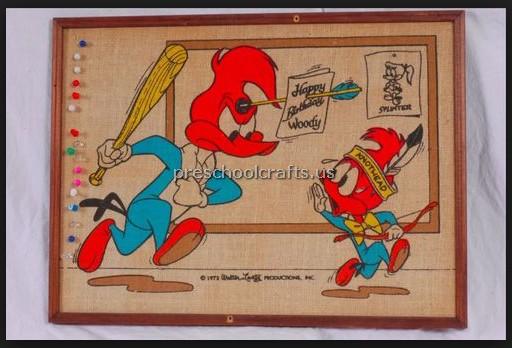 woodpecker bulletin boards idea for kid