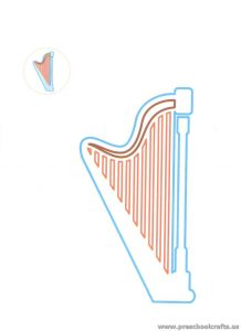 harp-coloring-pages-for-preschool