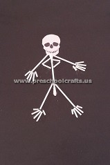 primary-school-making-skeleton-with-ear-stick