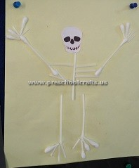 primaryschool-making-skeleton-with-ear-stick-primary-school