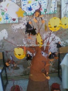 bee-and-tree-craft-from-paper-plate