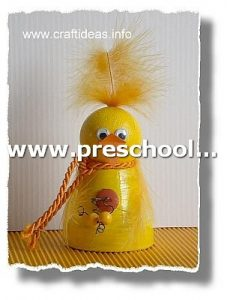 chick-craft-for-kids-from-paper-cup-and-pinpon-ball