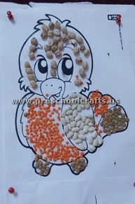 chick-using-beans-fro-preschool