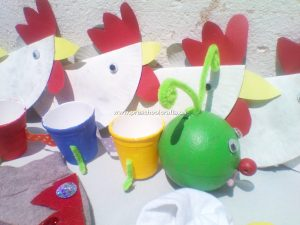 chicken-craft-and-pencil-case-craft-from-paper-cup