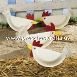 chicken-craft-from-paper-plate-for-kids
