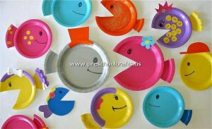 colored-fish-craft-from-paper-plate