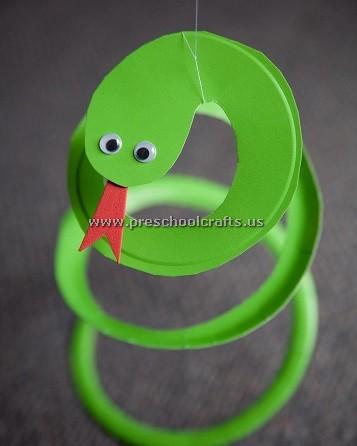 Snake Crafts Ideas For Preschool Preschool And Kindergarten