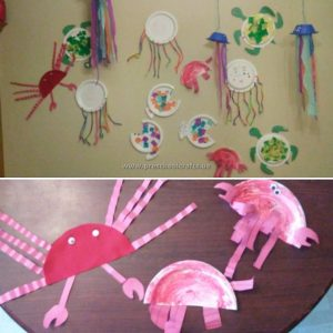 crab-crafts-ideas-to-paper-plate