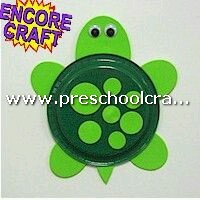 cute-turtle-craft-from-paper-plate-for-preschool
